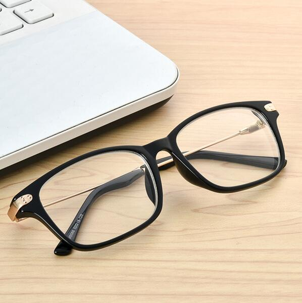 Quality Finished Nearsight Myopia glasses Metal +PC Eyeglasses Frames Degree Lens Diopters glasses -1 -1.5 -2 -2.5 -3 -3.5 -4-novahe