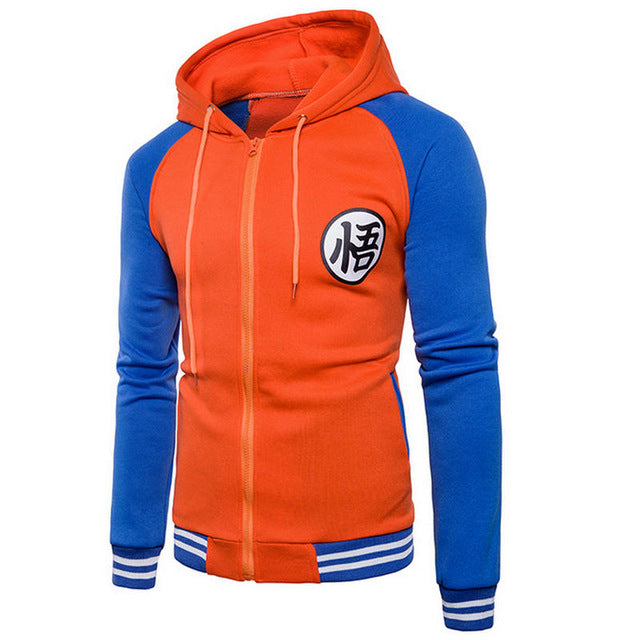hoodies Mens 2018 Autumn Hoody Men Dragon Ball Coat Casual Male Jacket Moleton Masculino Fashion Boy hoodies Sweatshirt M-3XL-novahe