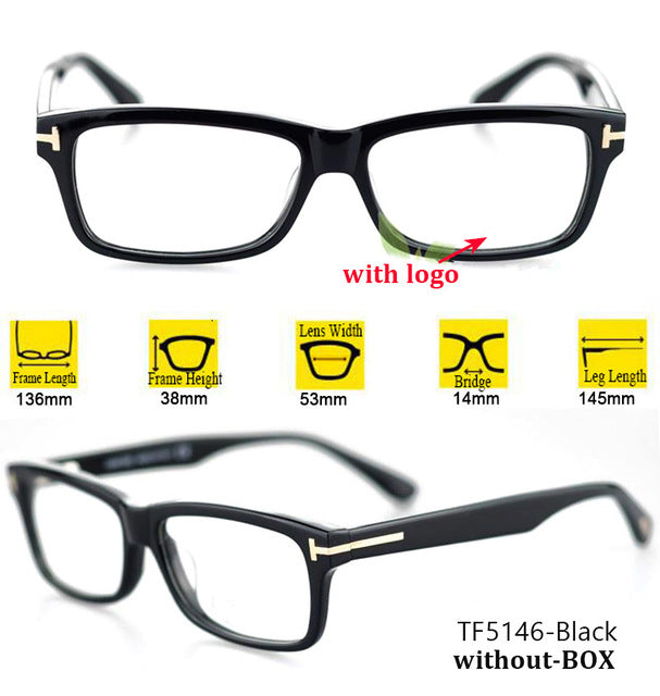 3b5526152ad82 IVSTA TF 5147 5146 5040 5407 6123 with logo Real Handmade Acetate Spectacle  Frame Glasses Men