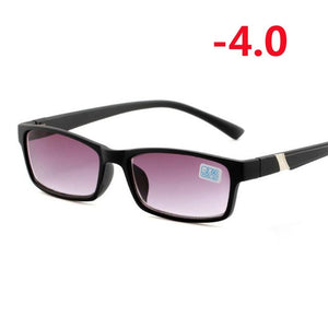 Finished Myopia Sunglasses For Unisex Anti-Blu-ray Student Diopter Myopia Glasses Women Men -1.0 -1.5 -2.0 -2.5 -3.0 -3.5 -4.0-novahe