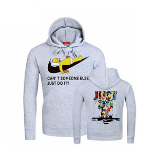 JUST DO IT Letter Printing Mans Hoodies Autumn Winter Fashion Brand Hoodie Men Streetwear hip-hop Tracksuits Male Sweatshirts-novahe