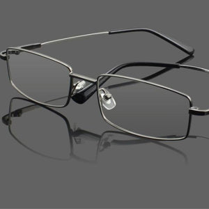 UVLAIK Titanium Glasses Frames Men Women Spectacle Transparent Eyeglasses Frame Business Eye Glasses Myopia Optical Glasses-novahe