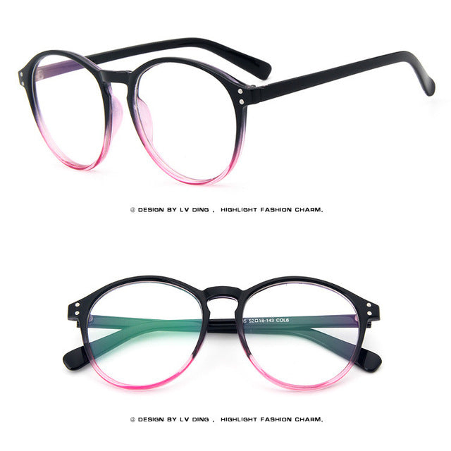 ffd6f6bff8b 2018 cheap Optical lens Spectacle Frame women s Cat Eye Eyeglasses male Anti -fatigue Computer Reading