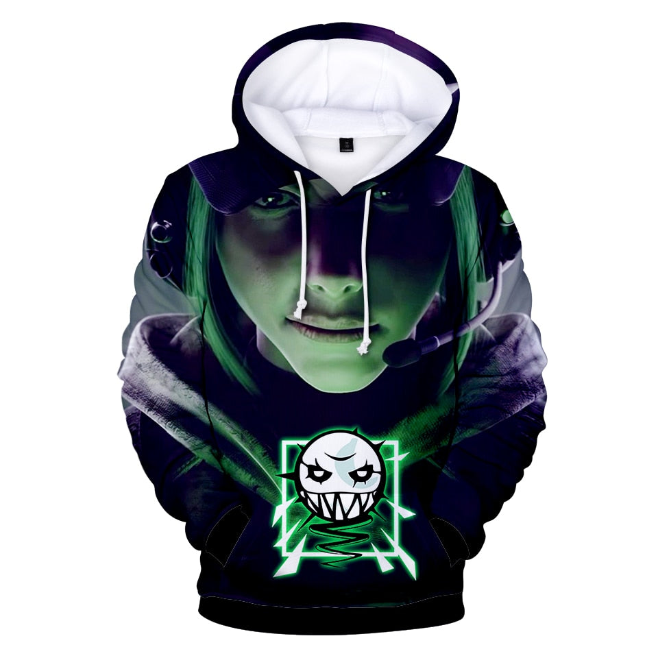 2018 Hot Game Rainbow Six Siege 3D Hoodies Men/women Fashion 3D Print With Hip Hop Rainbow Six Siege Men's Hoodie Sweatshirt-novahe