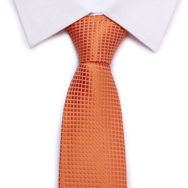 Brand New Solid Color Tie Red Gold Gray Green Ties For Men Jacquard Woven Silk Neck Tie Suit For Formal Party Wedding-novahe