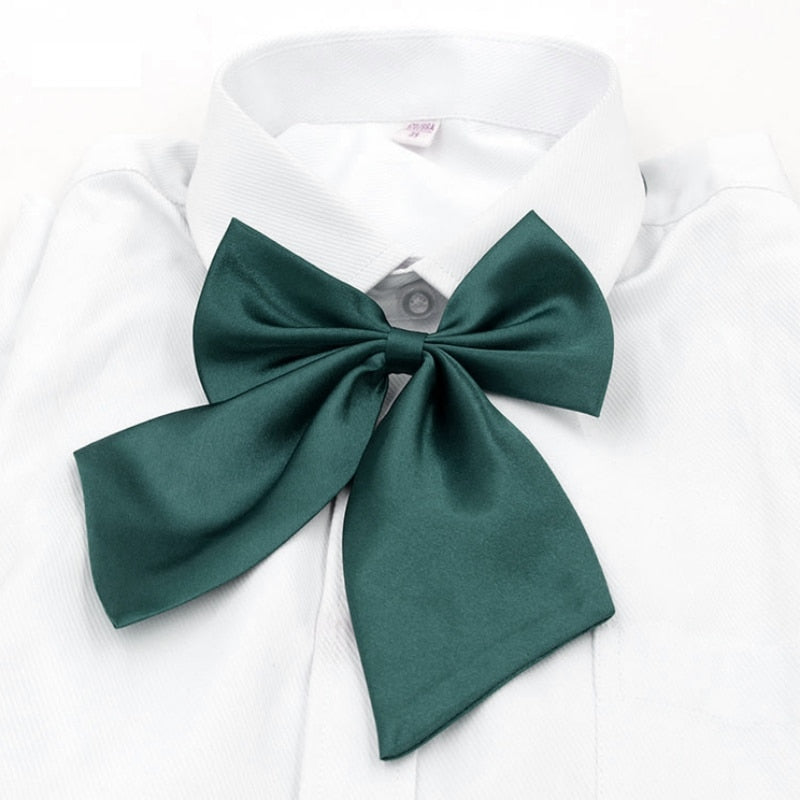 2017 Adjustable Bow Tie 8 Colors Child Adult Solid Color Bow knot Halter Neck Elegant Vintage Butterfly Necktie-novahe
