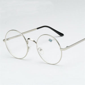 -1 -1.5 -2 -2.5 -3 -3.5 -4 Finished Myopia Glasses With Degree Fashion Round Frame Metal Retro Myopia Glasses Women Men-novahe