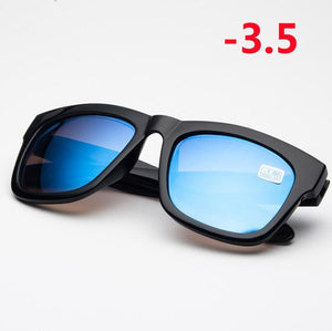 -1.0 -1.5 -2.0 -2.5 -3.0 -3.5 -4.0 Finished Myopia Glasses Men Women Fashion Myopia Sunglasses Prescription Glasses With Degree-novahe