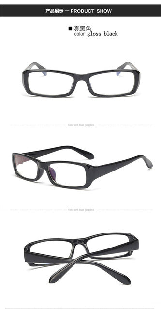 Blue Coating Computer Glasses Frame Anti Radiation Eyewear UV400 Optical Office Working Game Eyeglasses Fashion Light Goggles-novahe