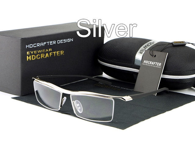 HDCRAFTER 2018 Reading Glasses Frame Optical Computer Radiation-Resistant Myopia Eyeglasses Plain Mirror Sunglasses oculoz-novahe