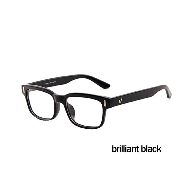 Wild Fashion V-Shaped Box Eye Glasses Frames Brand For Men New Women Computer Frames Eyewear Vintage Armacao Oculos De Grau-novahe