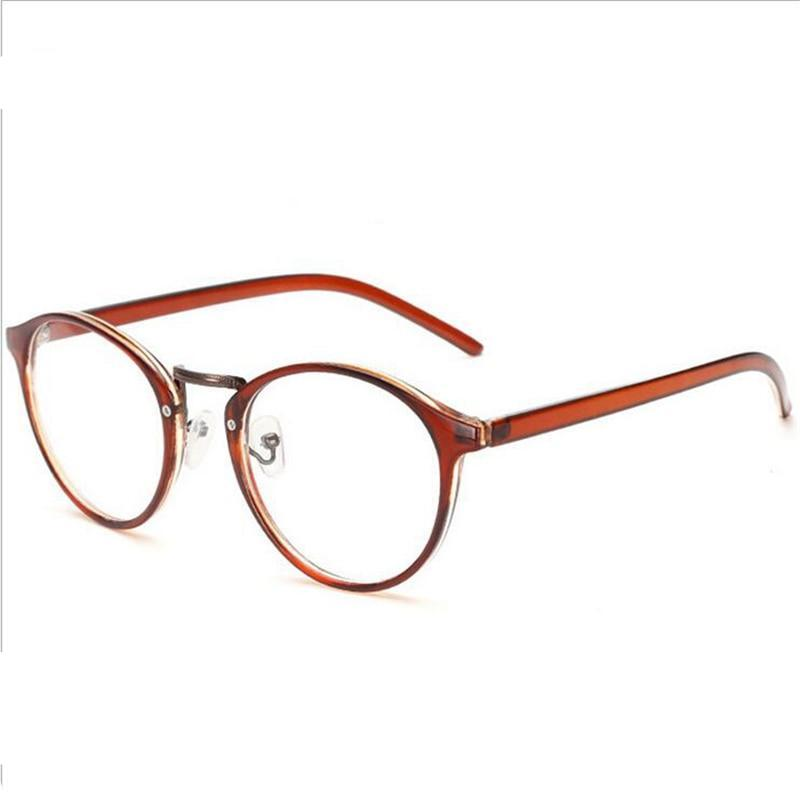 -1.0 -1.5 -2.0 To -6.0 Vintage 1.56 Aspherical Lens Finished Myopia Glasses With Degree Prescription Customized Degree-novahe