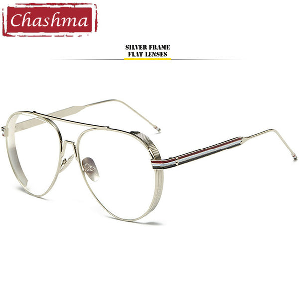 809d69843c0 ... Chashma Brand Oversized Male and Female Eyeglasses Western Style Metal  Optical Glasses Frames for Myopia Sunglasses ...