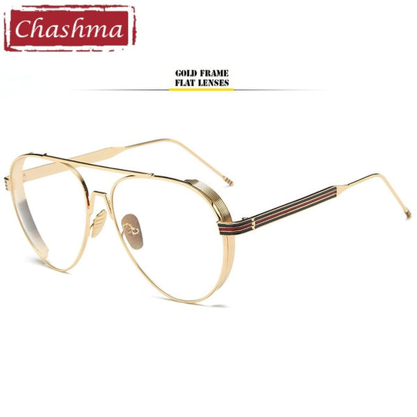 be6b370e6c ... Chashma Brand Oversized Male and Female Eyeglasses Western Style Metal Optical  Glasses Frames for Myopia Sunglasses