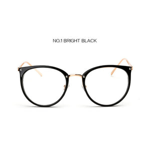 d513794d5f Kaleidoscope Glasses Big Round Eyewear Frame Metal Legs Oversized Men Women  Eyeglasses Frames ransparent Optical Spectacle