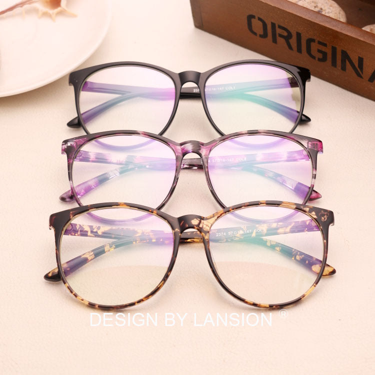New arrived Oval lens Frame Glasses Clear lens Optical Oculos de sol classic Women&Men glasses frame grau N741-novahe