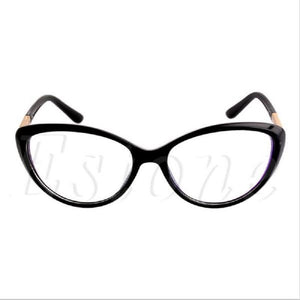 Women Optical Glasses Frame Cat Eye Eyeglasses Anti-fatigue Computer Reading Glasses Eyewear Oculos Glasses Drop ship-novahe