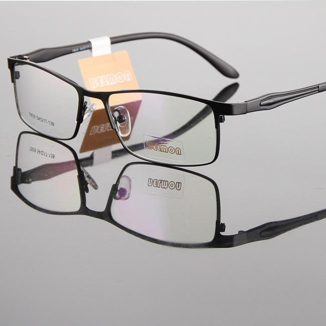 Eyeglasses Frame Men Nerd Computer Optical Myopia Glasses Spectacle Frame For Women's Male Transparent Armacao de RS193-novahe