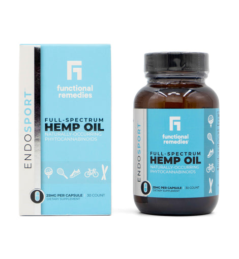 Functional Remedies Full-Spectrum Hemp Oil Capsules