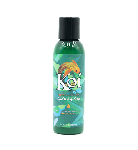 Koi Citrus Burst CBD Hand and Body Lotion