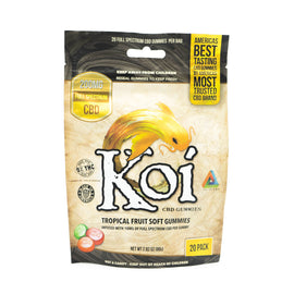 Koi Tropical Fruit Soft CBD Gummies