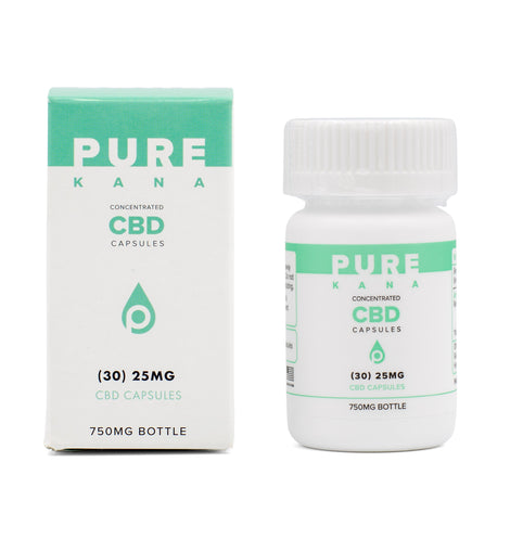 Pure Kana Concentrated CBD Capsules