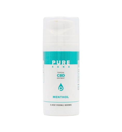 Pure Kana Menthol Topical CBD Ointment