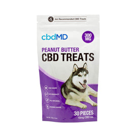 cbdMD Peanut Butter CBD Treats