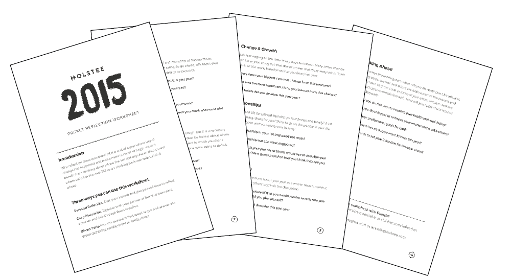 download the 2015 reflection worksheet - Reflection Worksheet