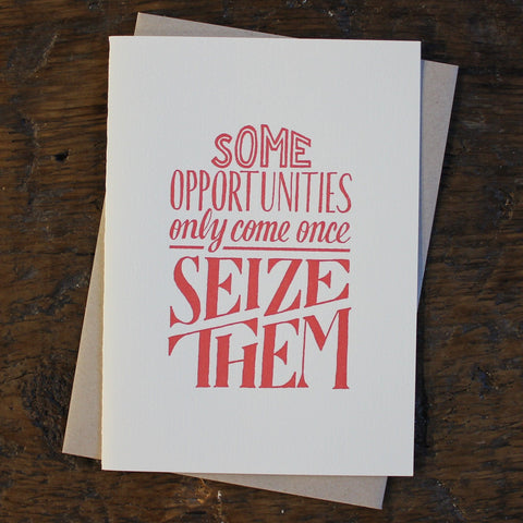 Opportunities Typography Cards