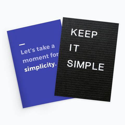 Simplicity Kit: Keep It Simple