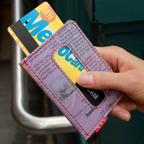The Upcycled Wallet