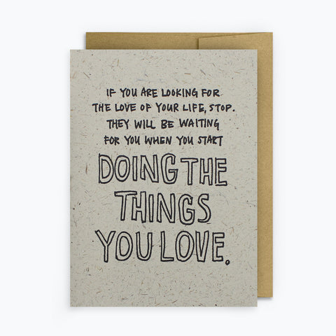 Love Of Your Life Cards (6-Pack)