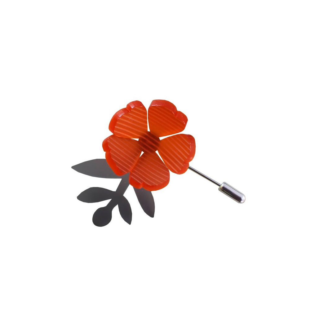 Bloom Pin - Orange