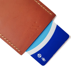 Slim Card Holder - Tan