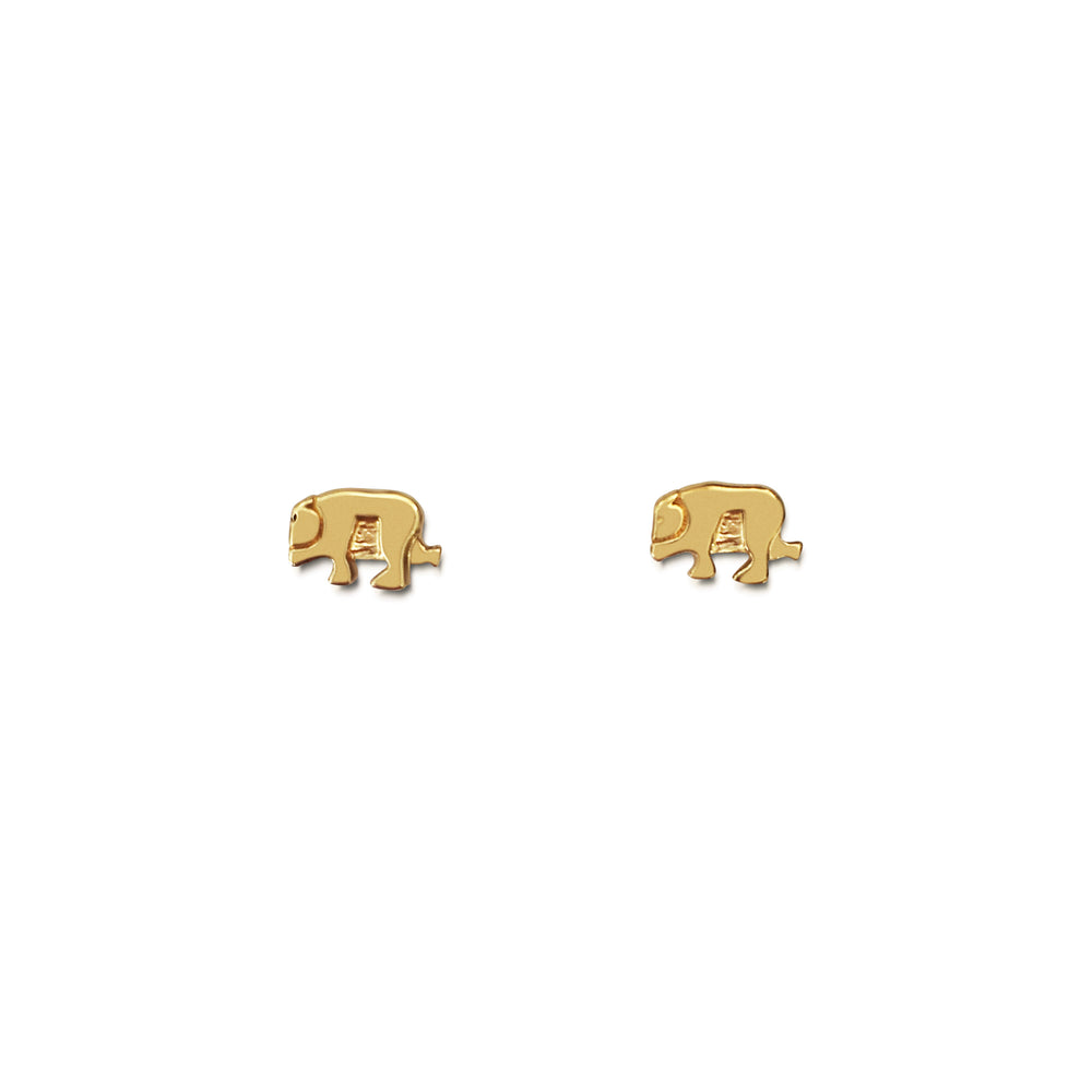 Bear Basics Stud Earrings