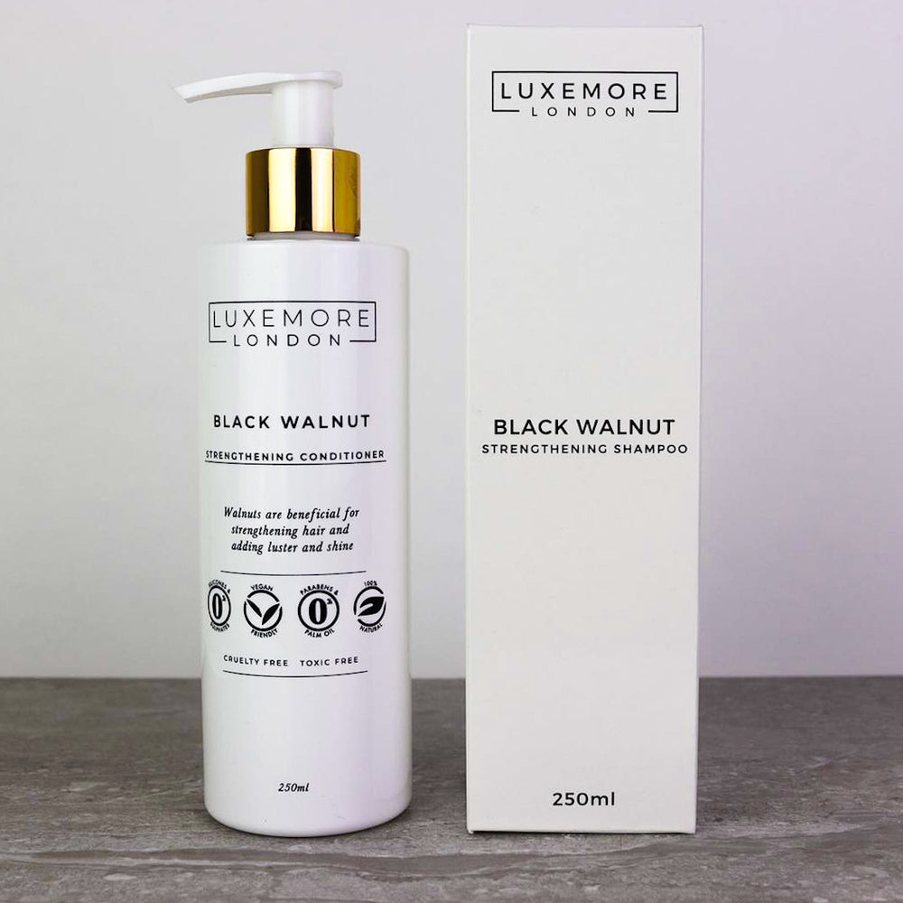 Black Walnut Shampoo & Conditioner