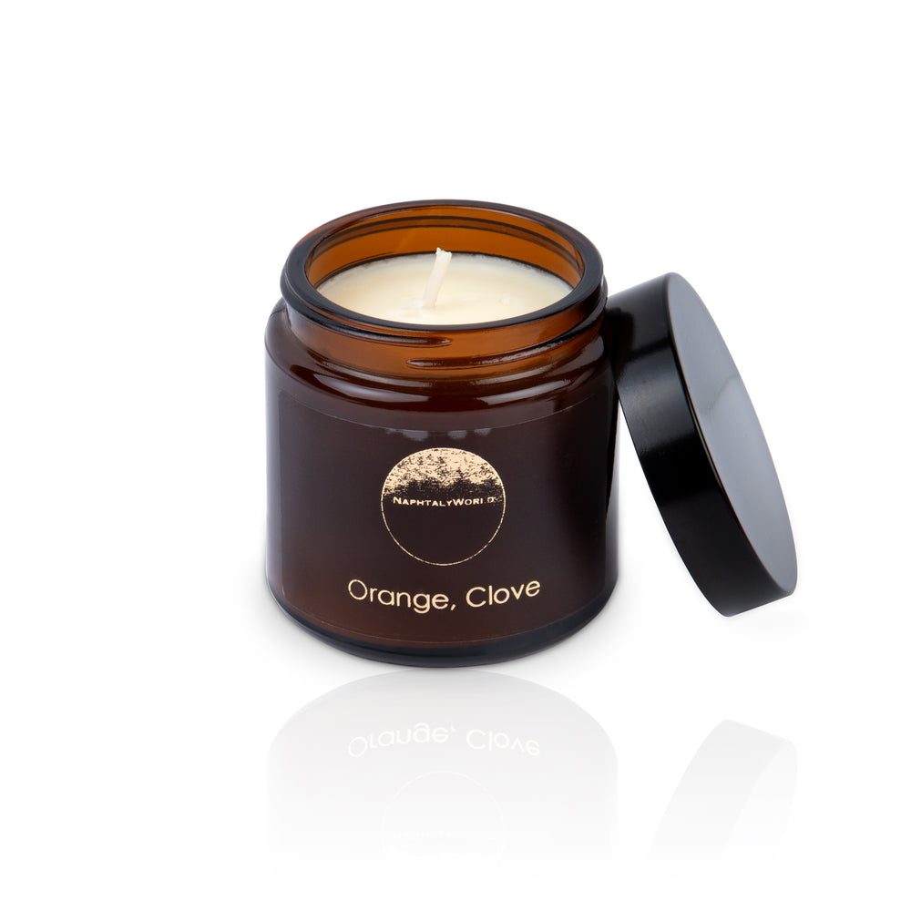 Warming Orange & Clove Candle,120 ml