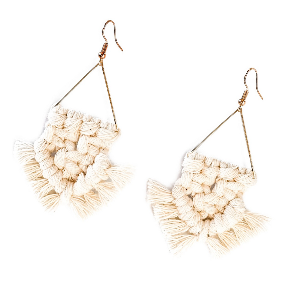 Macramé Vida Earrings