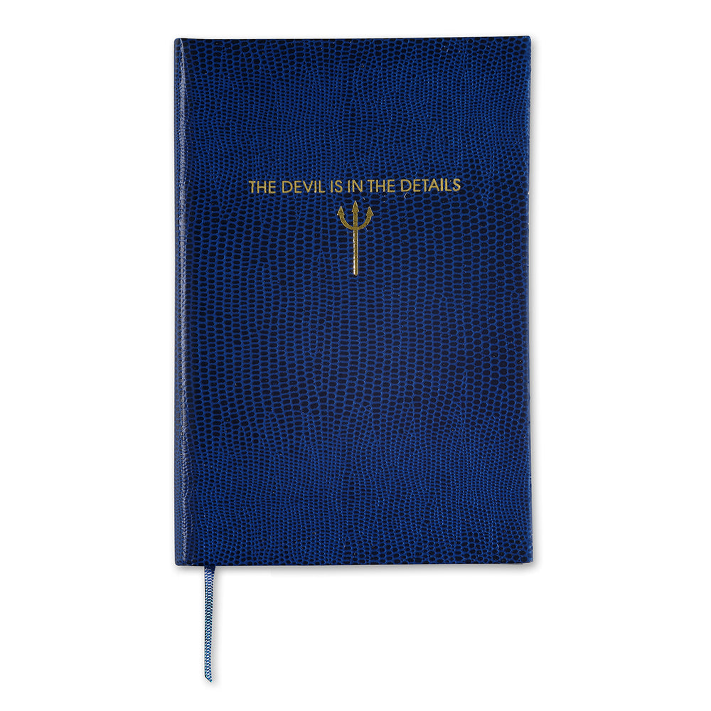 The Devil Is In The Details Pocket Notebook