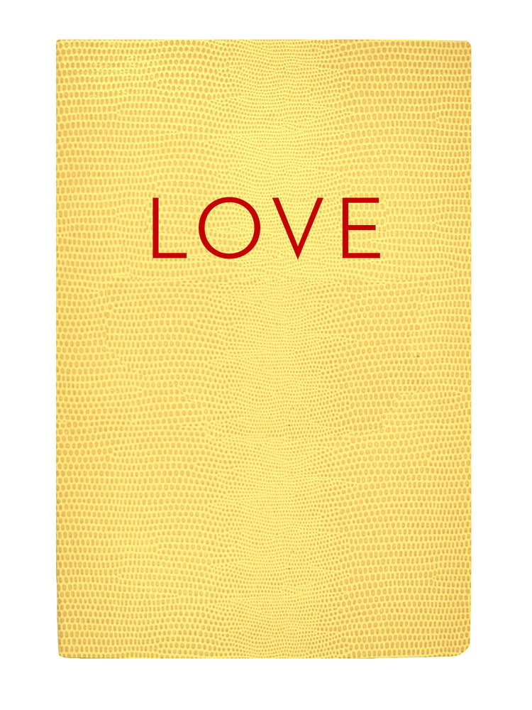 Softcover Love Notebook
