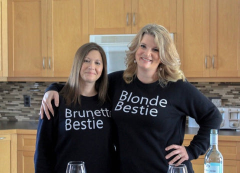 Bestie sweater with your bestie