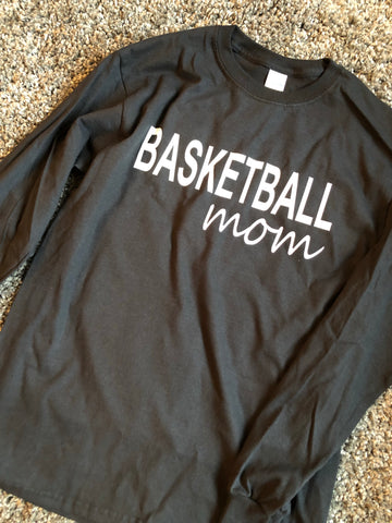BASKETBALL mom long sleeve
