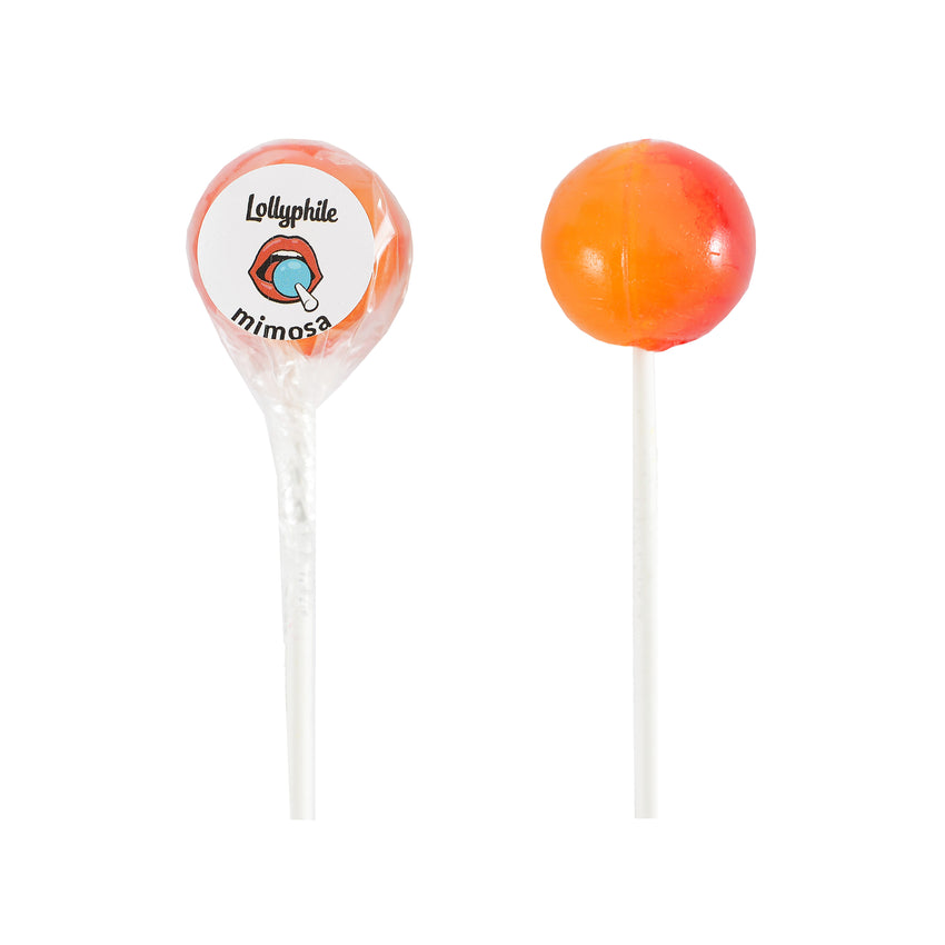 Mimosa Lollipops!