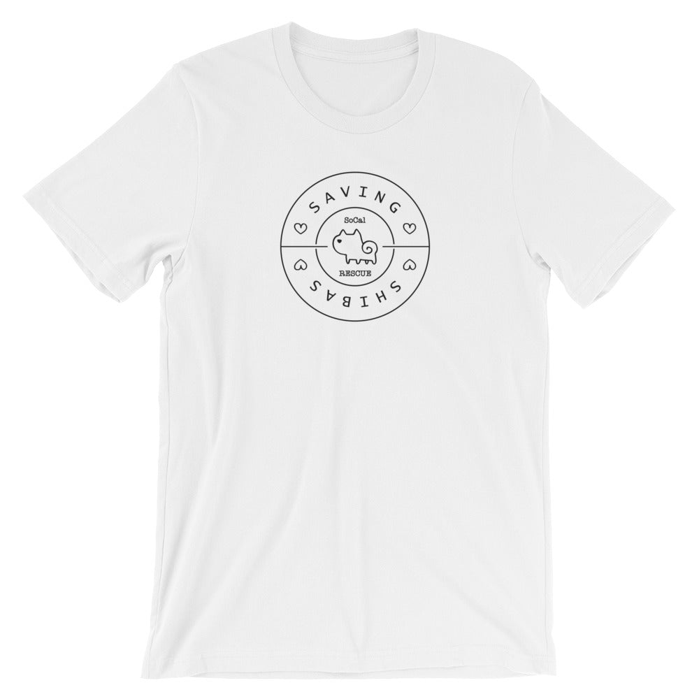 Saving Shibas Inc Original T-Shirt (Unisex) - Thin Circles