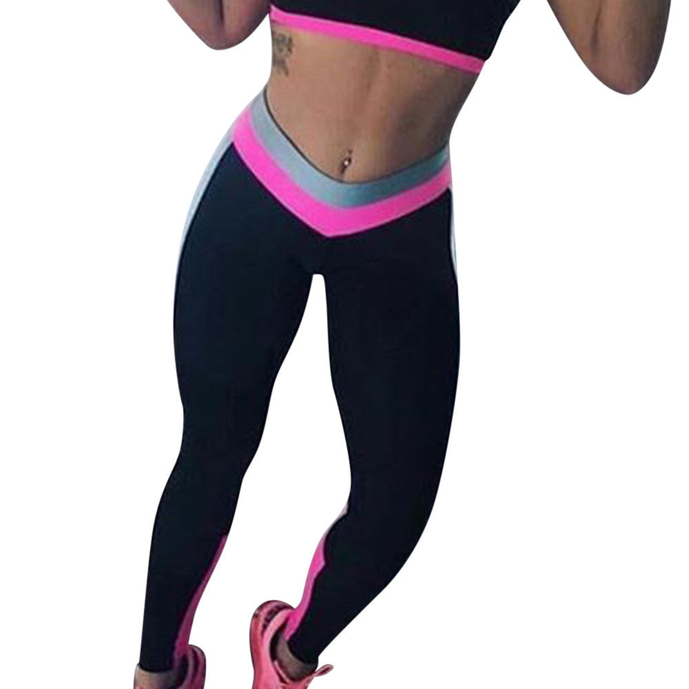 VALENTINAS  High Waist Running Fitness Leggings