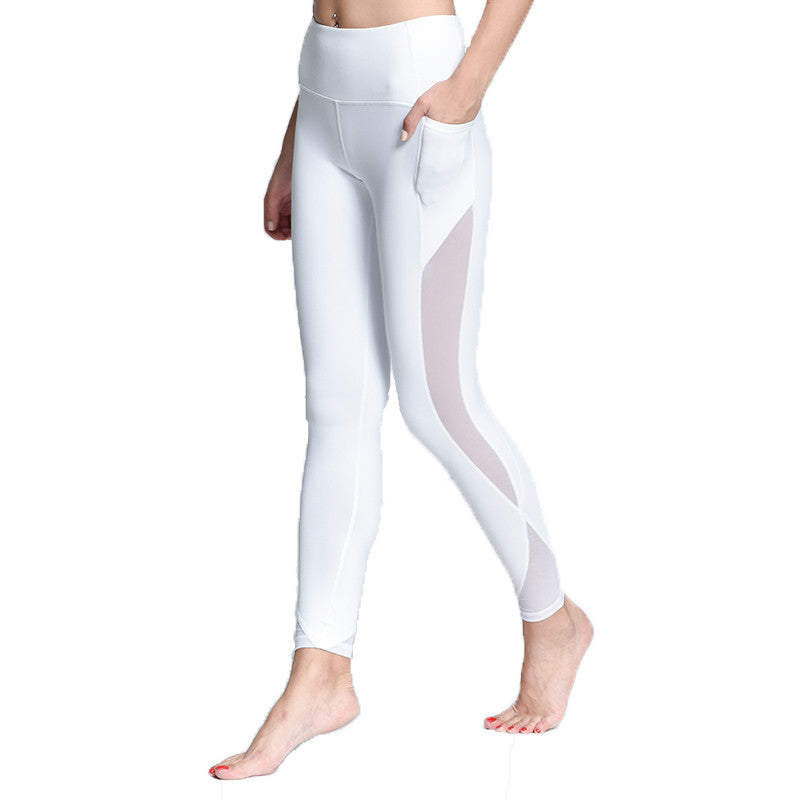 YANS Yoga Compression Capris with Pocket