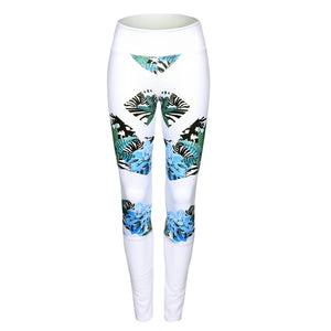 hawaian breeze workout  Leggings
