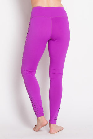 ROSE High Performance Leggings With Cutout Side Panels