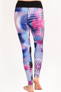 Abstract Printing Yoga Legging